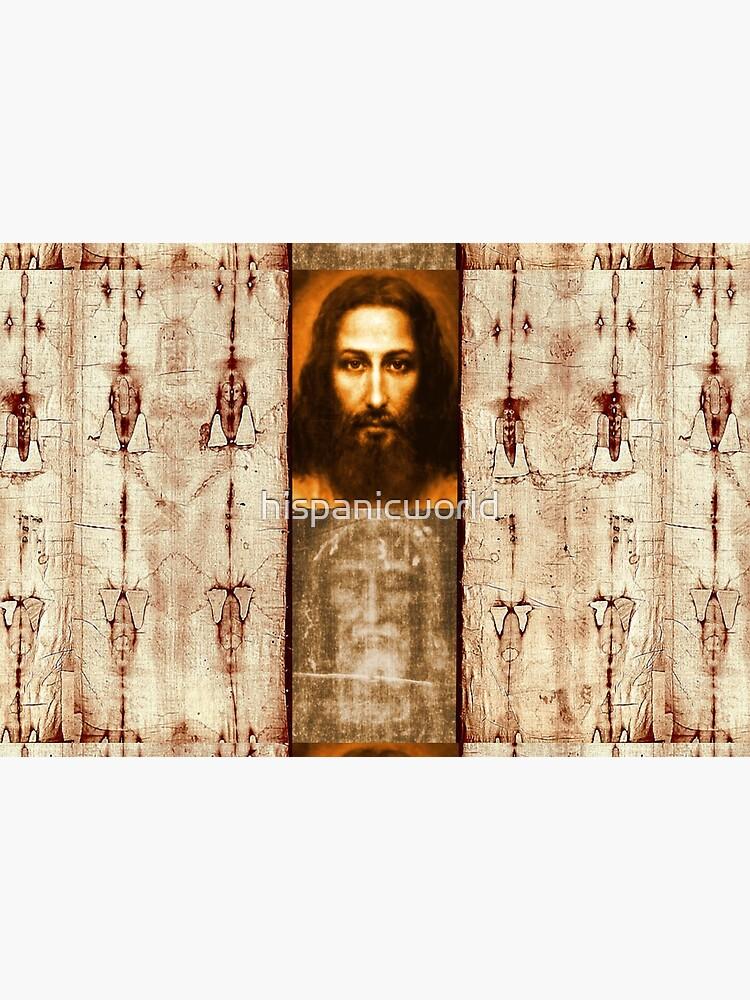 The Shroud of Turin Jesus Holy Face 201 by hispanicworld