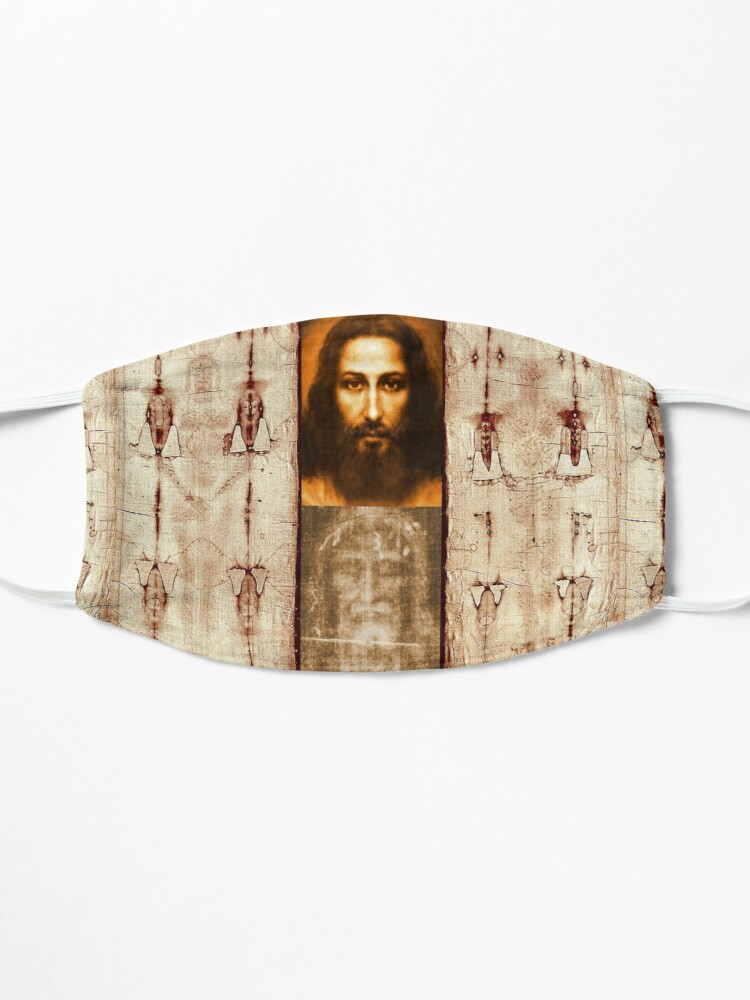 Alternate view of The Shroud of Turin Jesus Holy Face 201 Mask