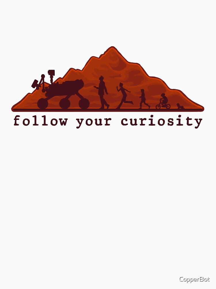 follow your curiosity | Unisex T-Shirt