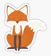 Foxy Friend Sticker