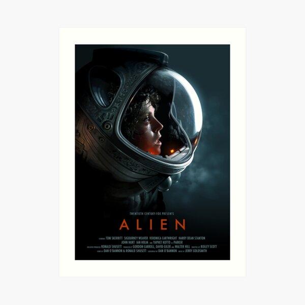 Alien 1979 Movie Art Art Print