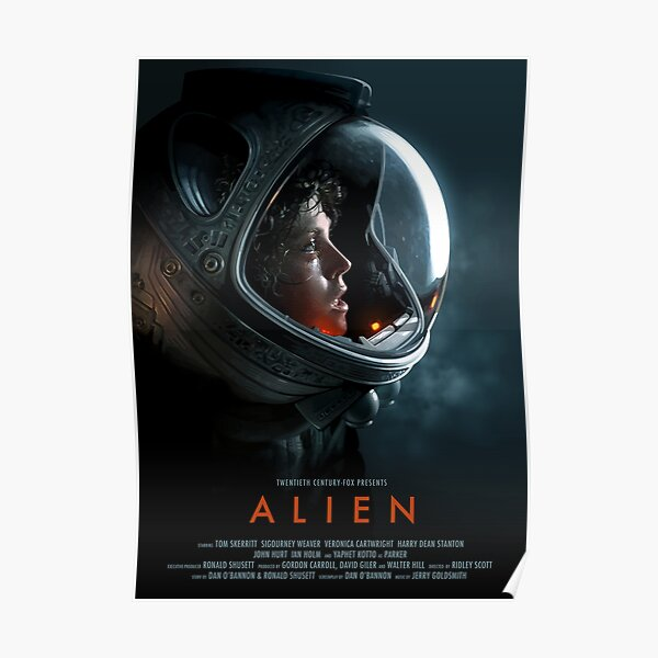 Alien 1979 Movie Art Poster