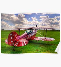 Pitts S-2B Special Poster