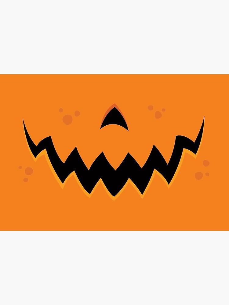 Crazy Pumpkin Jack-O-Lantern Mouth by fizzgig