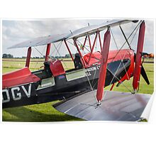 De Havilland Biplane Poster