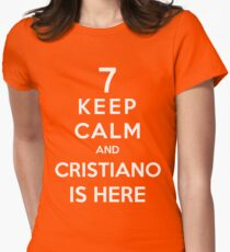 Keep Calm And Cristiano Is Here T-Shirt
