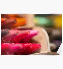 Day 11 - Tiny Tuesday - Crayola delight Poster