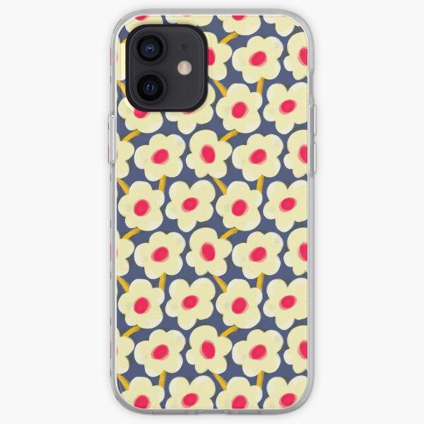Dot Floral iPhone Soft Case