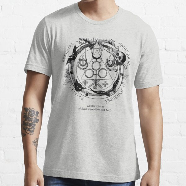 Circle of Black Evocations and Demonic pacts Essential T-Shirt