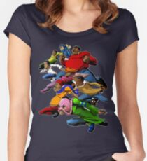 Fat Albert and the Gang Ready for battle Women's Fitted Scoop T-Shirt