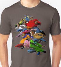 Fetter Albert und die Gang sind bereit für den Kampf Unisex T-Shirt