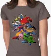 Fetter Albert und die Gang sind bereit für den Kampf Tailliertes T-Shirt für Frauen