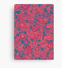Flower Doodle iPhone case Canvas Print