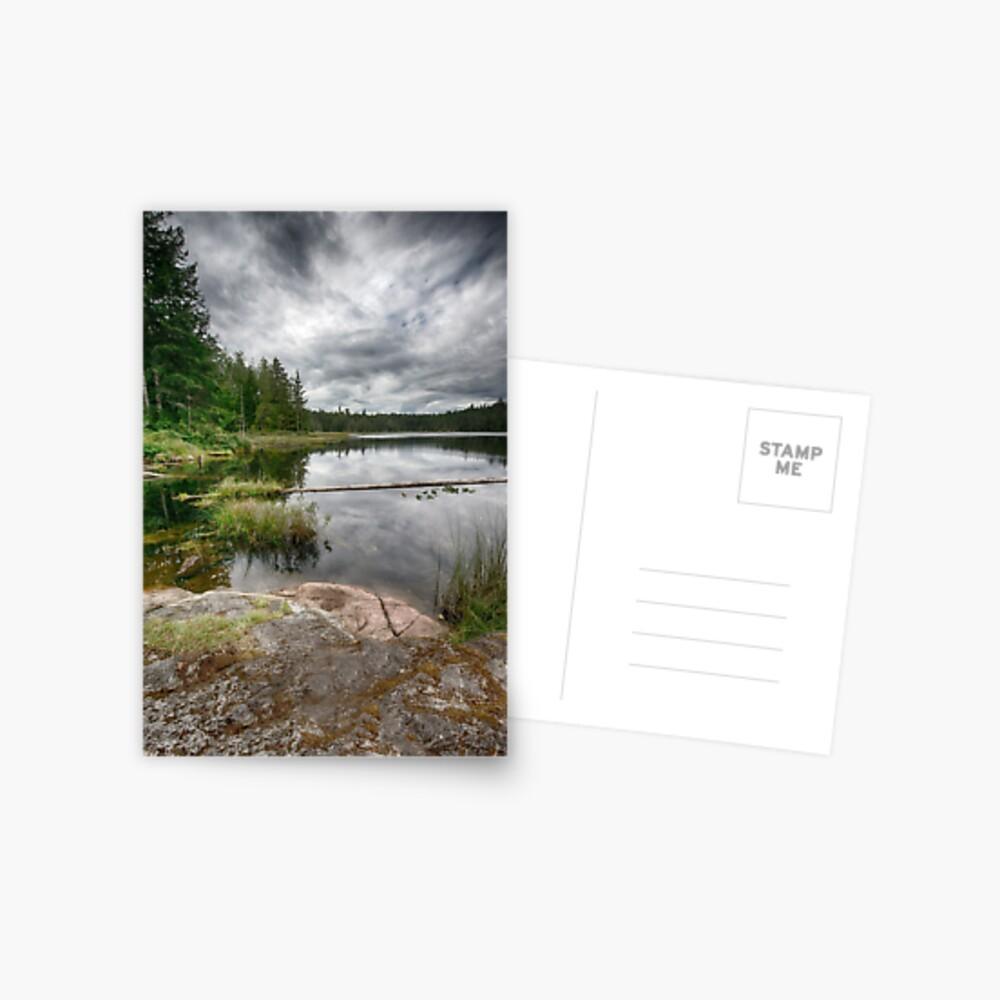 Lake on Gifford Peninsula Postcard