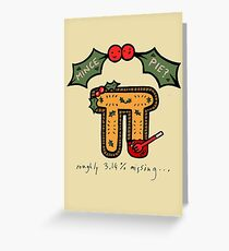 Christmas Mince ᴨ Greeting Card