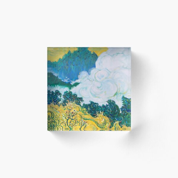 The Mighty Cloud of Witnesses Acrylic Block