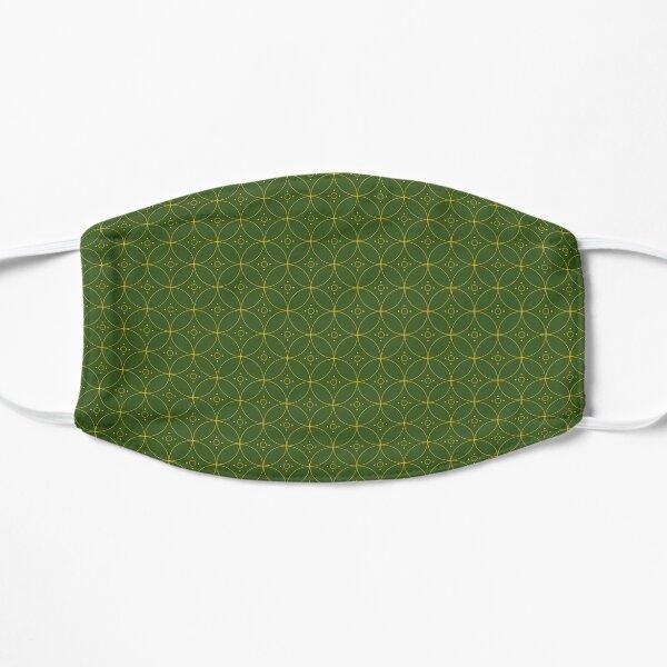St Olga Green Flat Mask