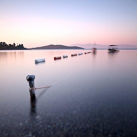 Boat in Silence by Özkan Konu
