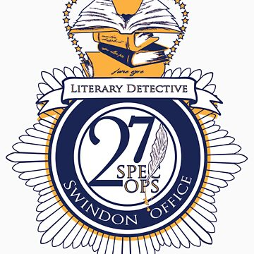 Literary Detective (Sticker) by OneShoeOff