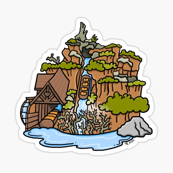 Splash Sticker