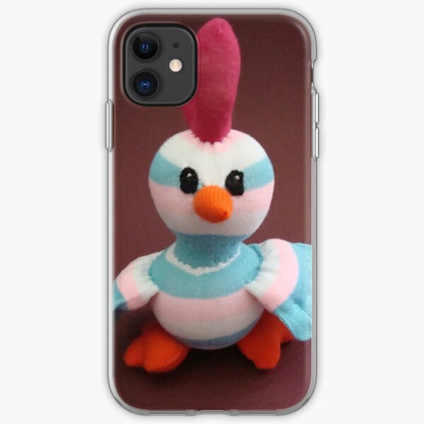 Sock Chicken  iPhone Soft Case