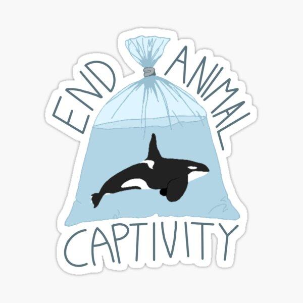 End Animal Captivity Sticker