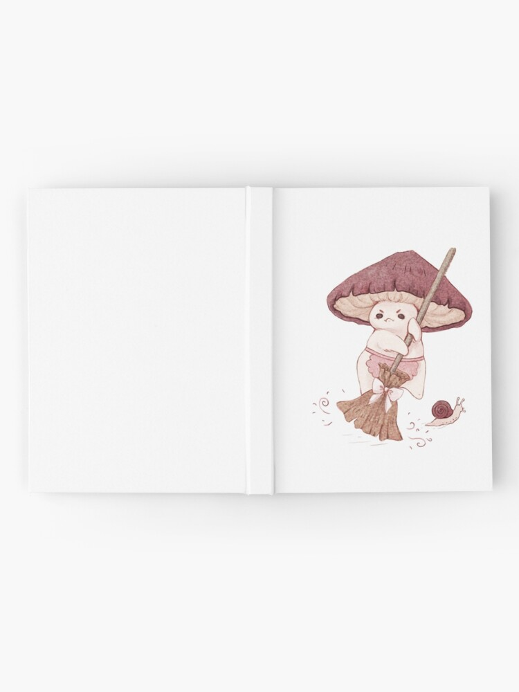 Alternate view of Angy mushroom does not like to clean  Hardcover Journal