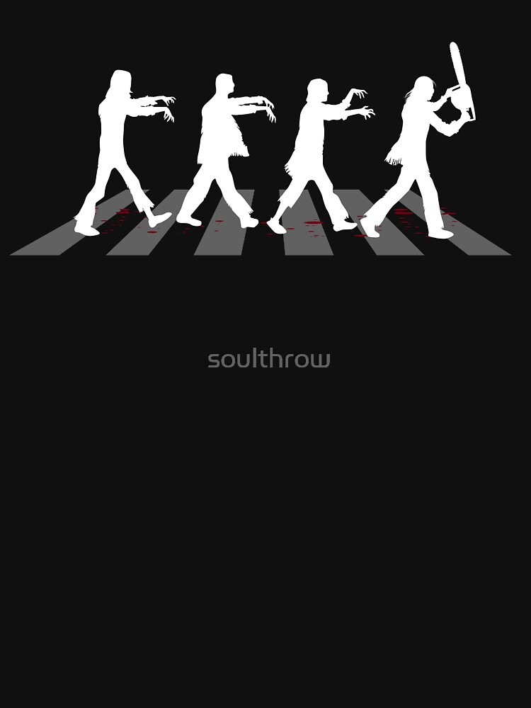 Zombies on Abbey Road (Version 03) | Unisex T-Shirt