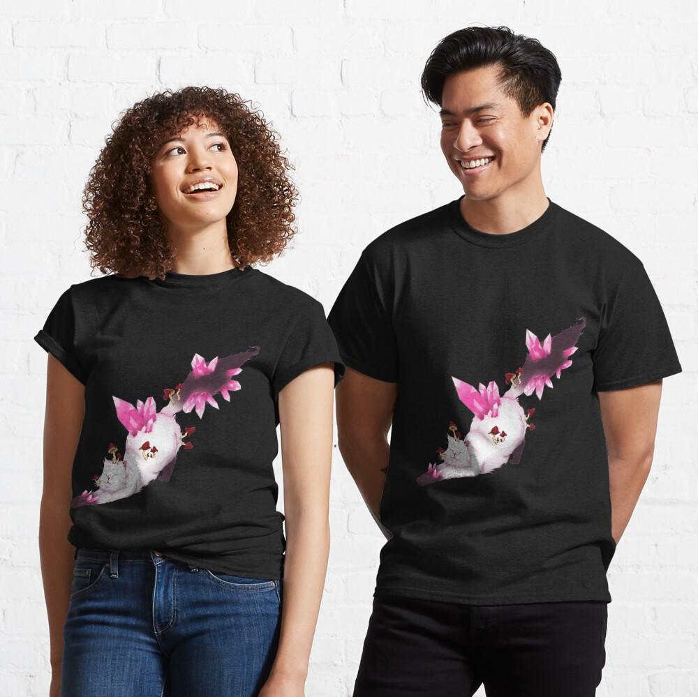 Gato Cristal Camiseta clásica