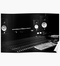 A Recording Lab (SoundBoard) Poster