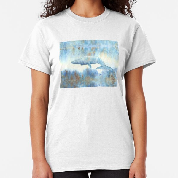 Baleine bleue T-shirt classique