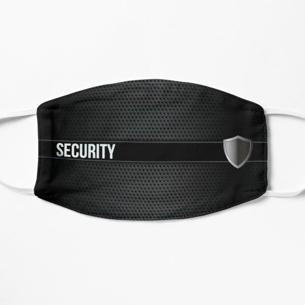Security with a smile Flat Mask