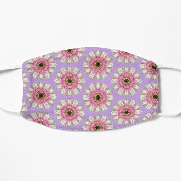 Pink gerbera on lilac Mask