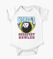 World's Greatest Bowler T-Shirt Kids Clothes
