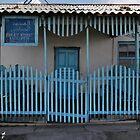 Porch of the Karakul Jamaat Mosque by Marjolein Katsma