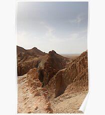 Mount in the desert Poster