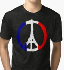 Peace For Paris Tri-blend T-Shirt