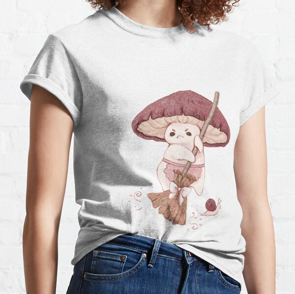Angy mushroom does not like to clean  Classic T-Shirt