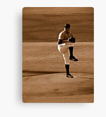An Evening At The Game ~ Part Four Canvas Print