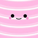 I'm a cute Iphone and I smile [Pink] by Mhaddie