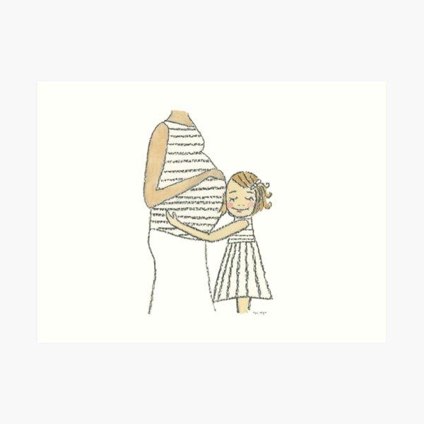 A Mother's Love Art Print