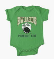 Funny Perfect Ten Bowler Bowling T-Shirt Kids Clothes