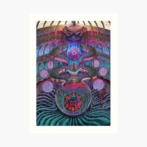 Mastermind - By DragonsLunch Art Print