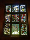 Window, Abbey Church, Caboolture, Australia (2) by Margaret  Hyde