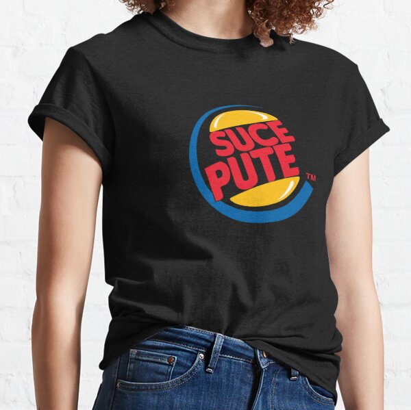 Sucepute Alkpote Burger King T-shirt classique