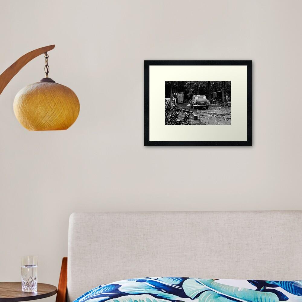 Country Cruisin' Framed Art Print