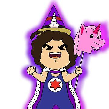 All Hail The Unicorn Wizard by 2pikachu8