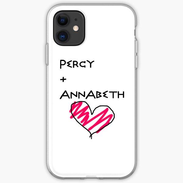 Percy+Annabeth Case iPhone Soft Case