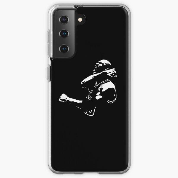 Michael Jordan Silhouette Samsung Galaxy Soft Case