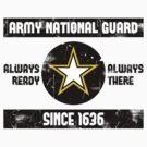 National Guard Baseball Tee by Sarah Kittell